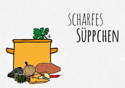 scharfe Suppe
