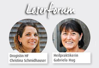 Christina Schmidhauser und Gabriela Hug