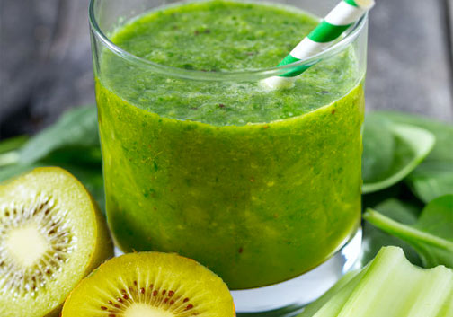 Sellerie-Kiwi-Smoothie